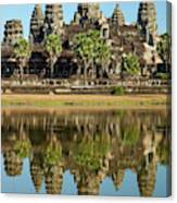 Angkor Wat Temple Complex (12th Century Canvas Print