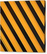 Angled Stripes Canvas Print