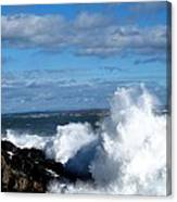 Angry Shores Canvas Print
