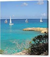 Anguilla Regatta Canvas Print