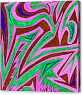 Anguished Love V 4 Canvas Print