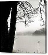 Angular Fog Canvas Print