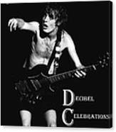 Angus Creates Decibel Celebrations Canvas Print