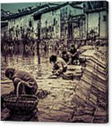 Anhui Wannan China Canvas Print