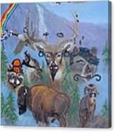 Animal Equality Canvas Print