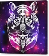 Animal Head Print For Adult Anti Stress Canvas Print