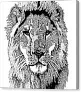 Animal Prints - Proud Lion - By Sharon Cummings Canvas Print