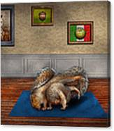 Animal - Squirrel - And Stretch Two Three Four Canvas Print