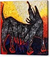 Animalia Canis No. 8  Canvas Print
