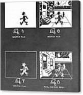 Animation Canvas Print