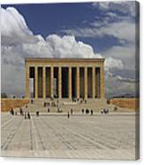 Anitkabir Ankara Turkey Canvas Print