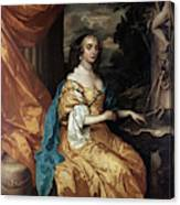 Ann Hyde, Duchess Of York (1637-1671) Canvas Print
