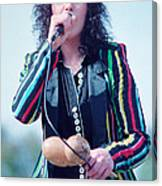 Ann Wilson Of Heart At 1981 Day On The Green In Oakland Ca Canvas Print