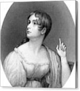 Anna Brownell Jameson  Writer Canvas Print