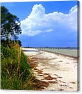 Anna Maria Island View Canvas Print
