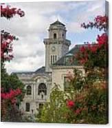 Annapolis Academy Clock Tower Canvas Print