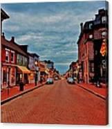 Annapolis Canvas Print