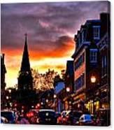 Annapolis Night Canvas Print