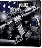 Annapolis Police Canvas Print