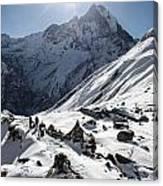 Annapurna Base Camp Canvas Print
