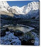 Annapurna Morning Canvas Print