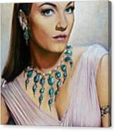 Anne Baxter In Ten Commandments  @ Ariesartist.com Canvas Print