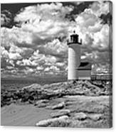 Annisquam Lighthouse Infrared Canvas Print