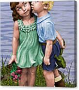Anniversary Card 5x7 Canvas Print