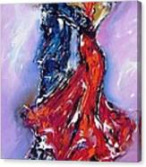 Anniversary Dance Painting  Canvas Print