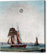 Annular Eclipse Of The Sun Canvas Print