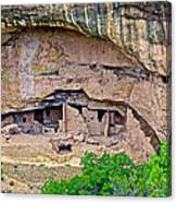 Another Dwelling On Chapin Mesa In Mesa Verde National Park-colorado  Canvas Print