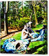 Another Luncheon On The Grass Canvas Print