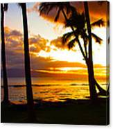 Another Maui Sunset Canvas Print