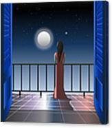 Another Night Alone Canvas Print