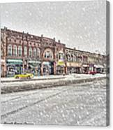 Another Snowy Day Canvas Print