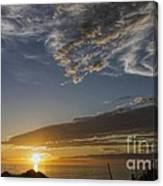 Another Socal Summer Sunset Canvas Print