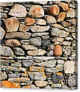 Another Stone In The Wall Canvas Print