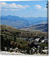 Another View From Mammoth In Yellowstone Canvas Print
