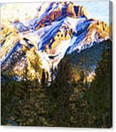 Another View Of My Mountain Canvas Print