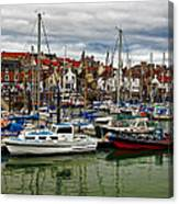 Anstruther Harbour Canvas Print