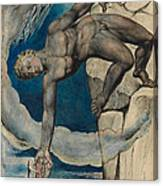 Antaeus Setting Down Dante And Virgil In The Last Circle Of Hell Canvas Print