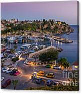 Antalya Harbour Canvas Print