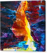 Antelope Canyon Light Canvas Print