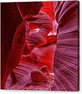 Antelope Canyon Mummy 2 Canvas Print