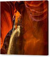 Antelope Canyon - Sand In The Light Canvas Print
