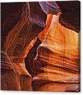 Antelope Canyon Textures Canvas Print