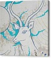 Antelope Invert Canvas Print