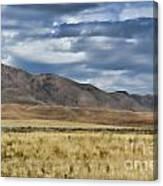 Antelope Island Camera Flats Canvas Print
