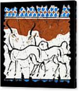 Antelope Of Akrotiri Canvas Print