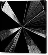 Antenna- Black And White  Canvas Print
